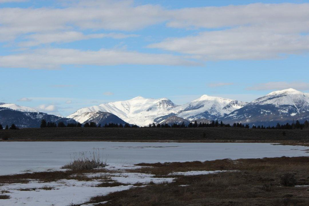 Browns Lake east of Ovando