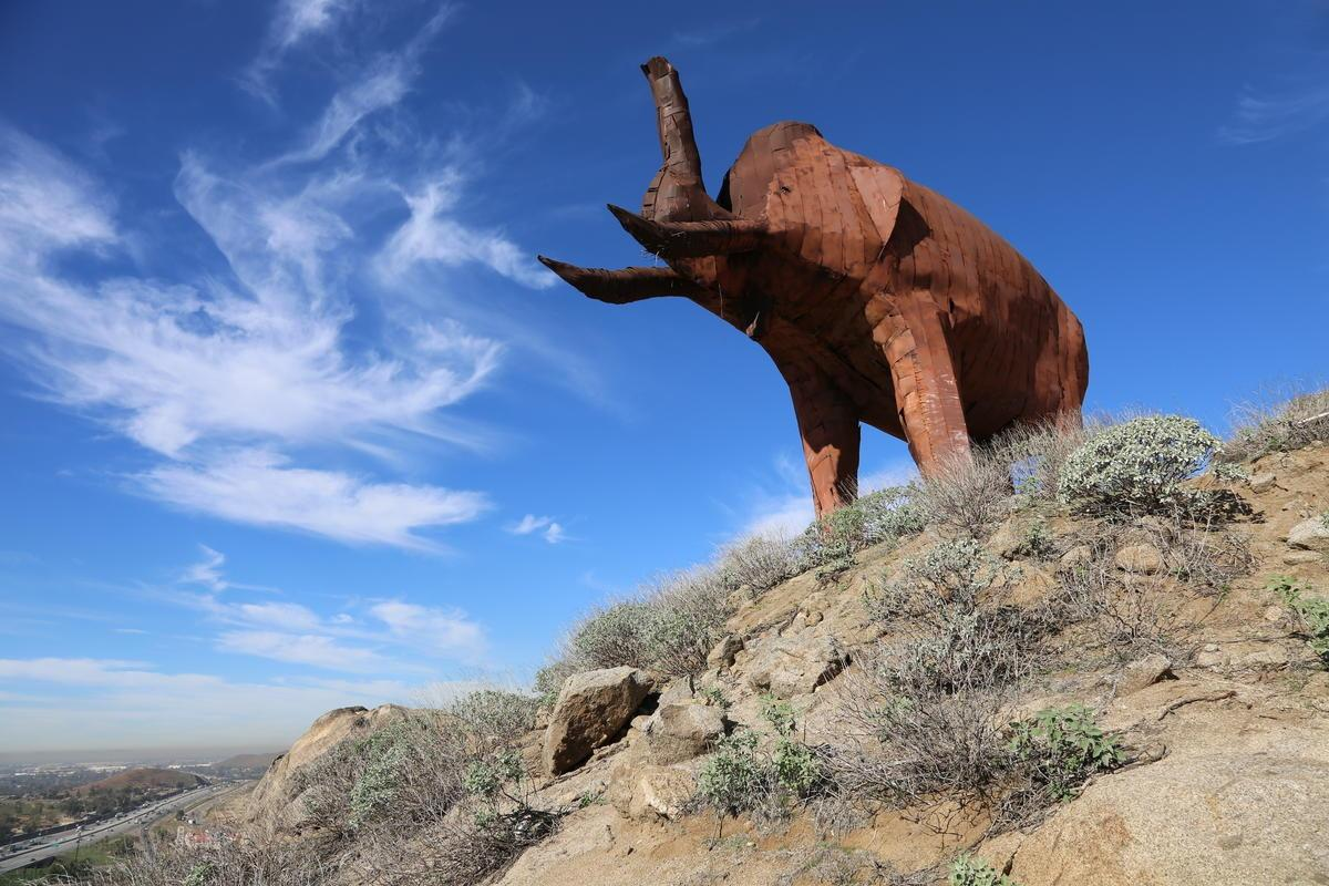 What's that Mammoth above the 60 Freeway?