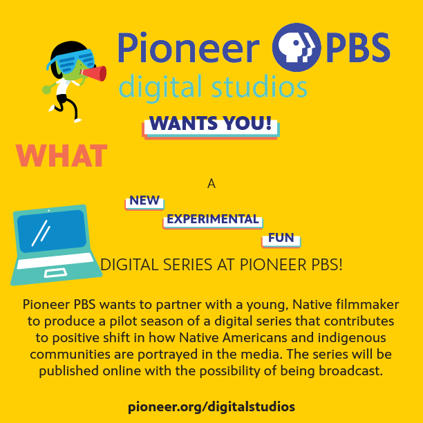 Apply for a PBS digital series opportunity, page one