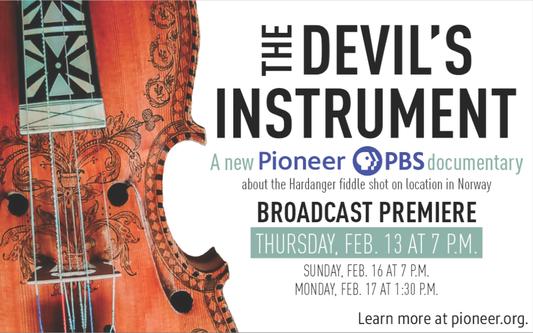 The Devil's Instrument Broadcast flyer.