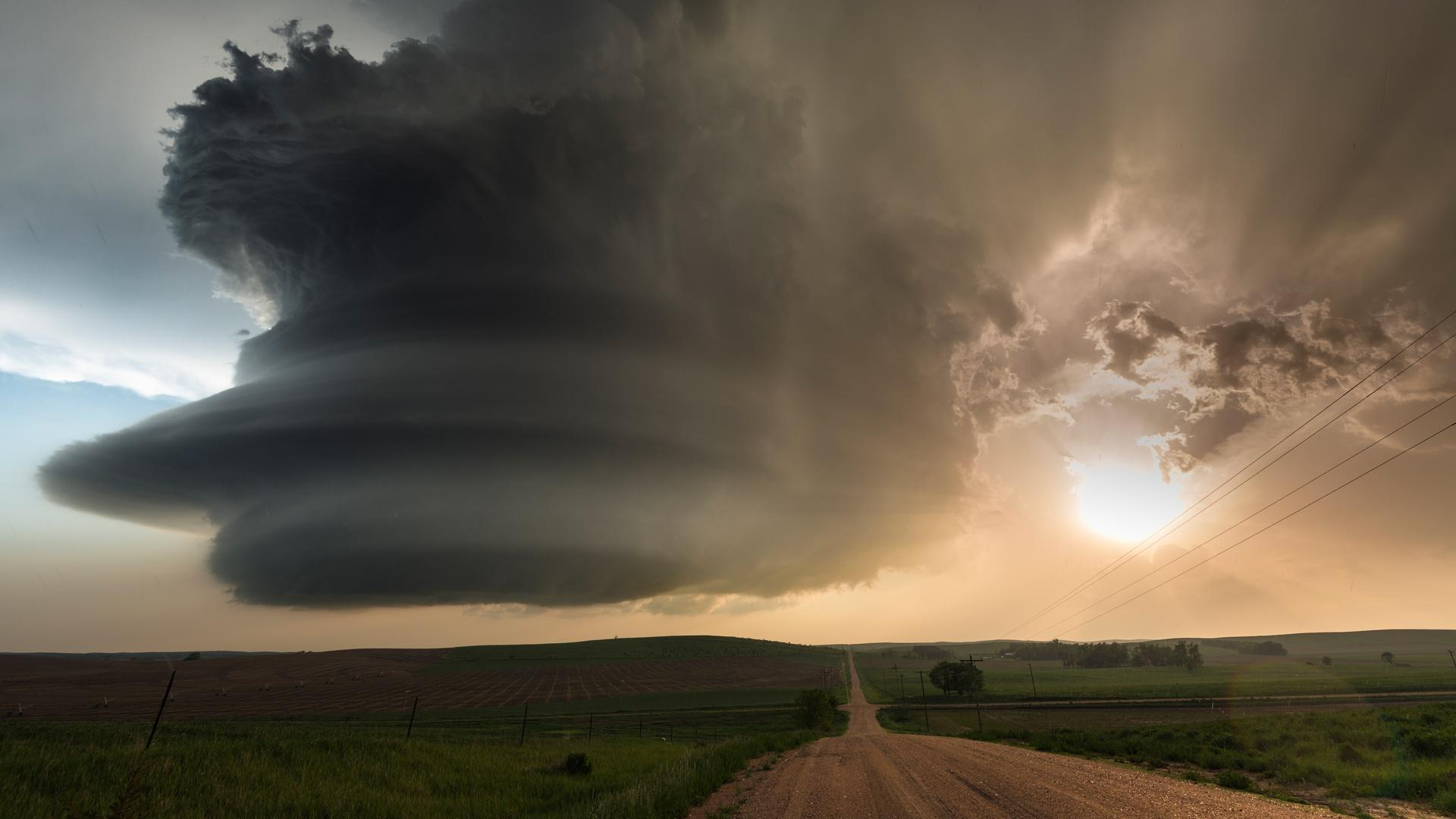 Super cells, or giant storms have become a third more common in the past few decades, dropping 10% more rain than they did 25 years ago.