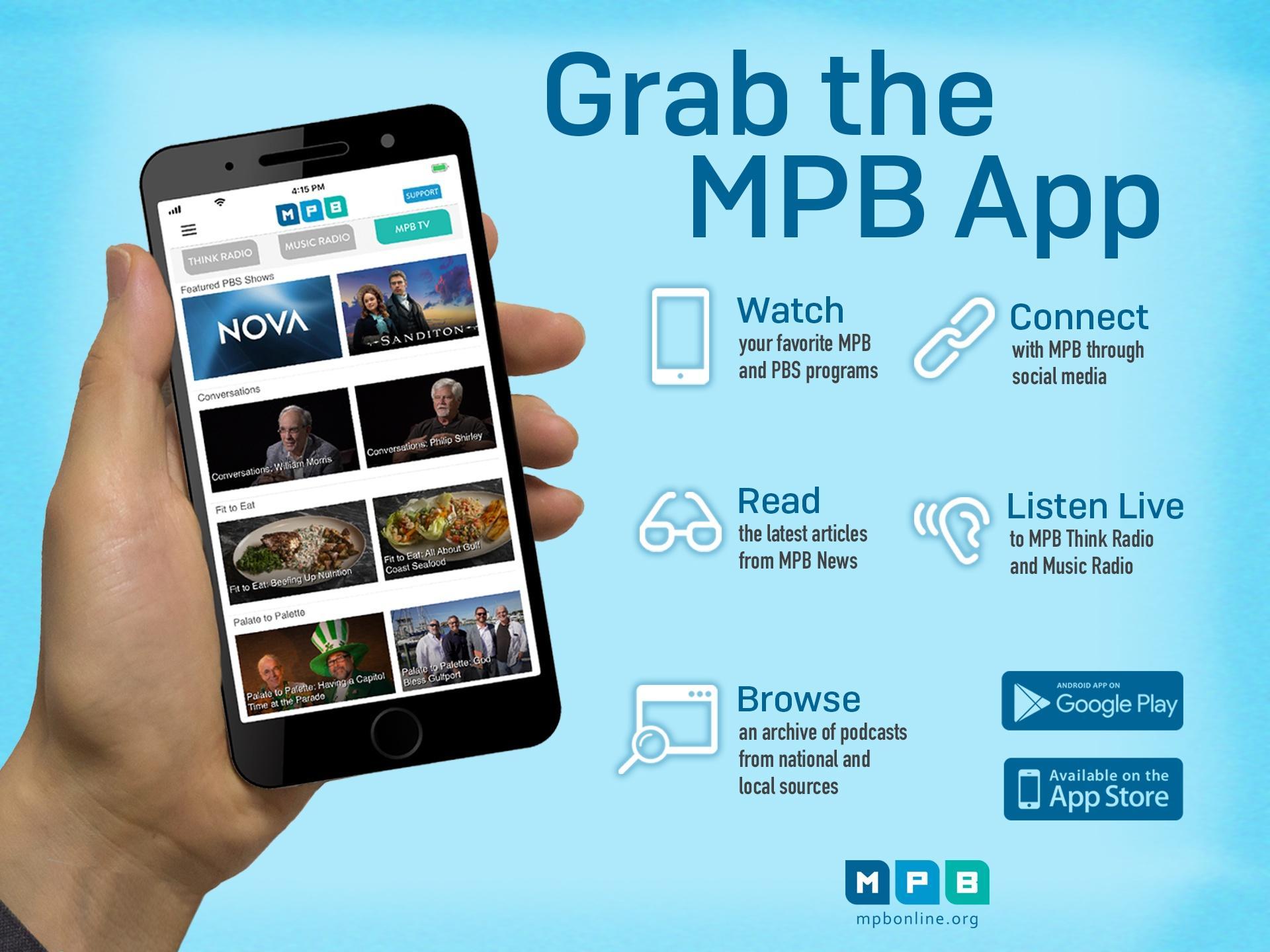 Public Media App promo