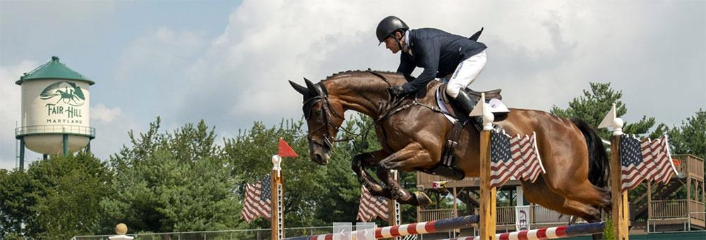 Maryland 5 Star horse and jumper