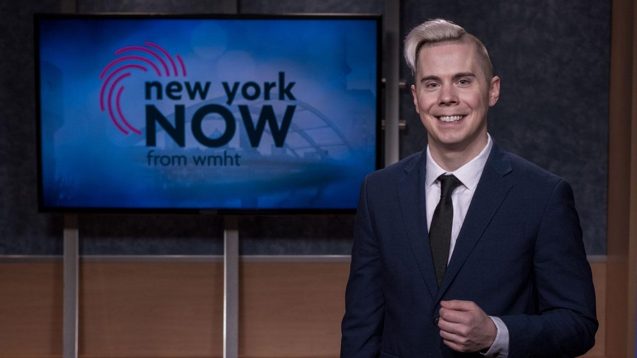 Photo of New York NOW host and producer, Dan Clark.