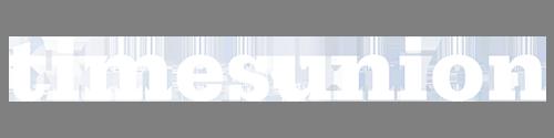 Times Union Logo in White