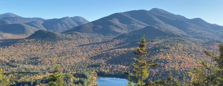 Adirondacks on a sunny, fall day
