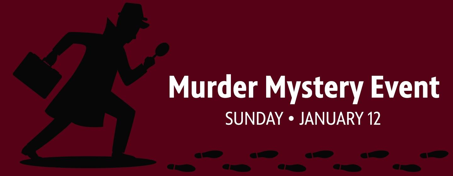 Murder Mystery Event