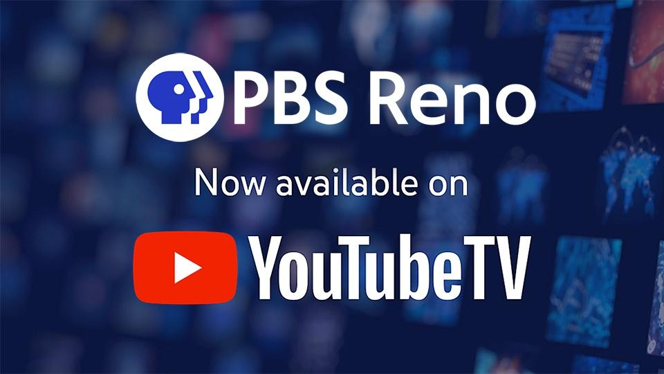 PBS Reno YouTube TV