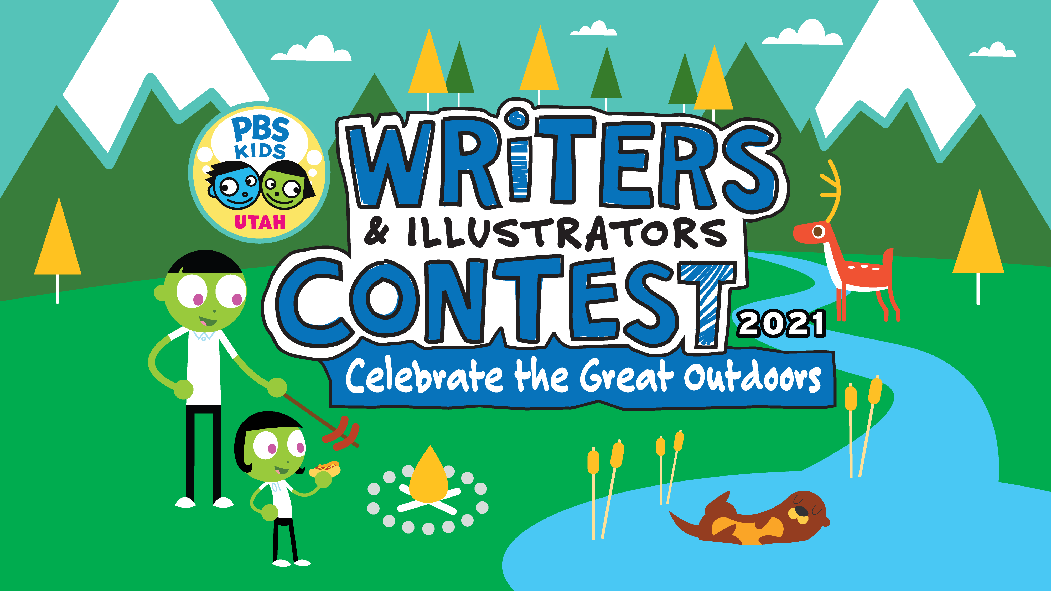 Writers & Illustrators Contest 2021 - Celebrate the Great Outdoors