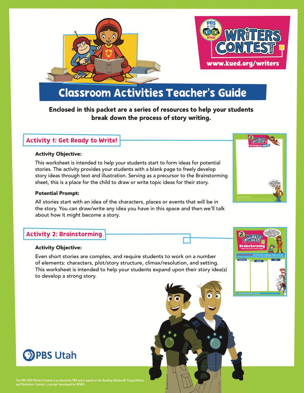 Classroom Activities Teacher Guide