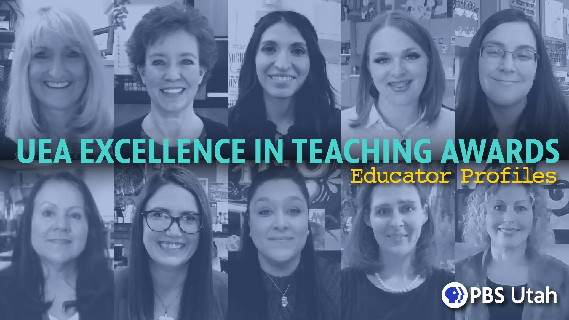 UEA Excellence in Teaching Awards - Educator Profiles 2020