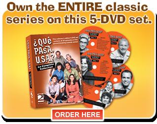 Que Pasa USA DVDs