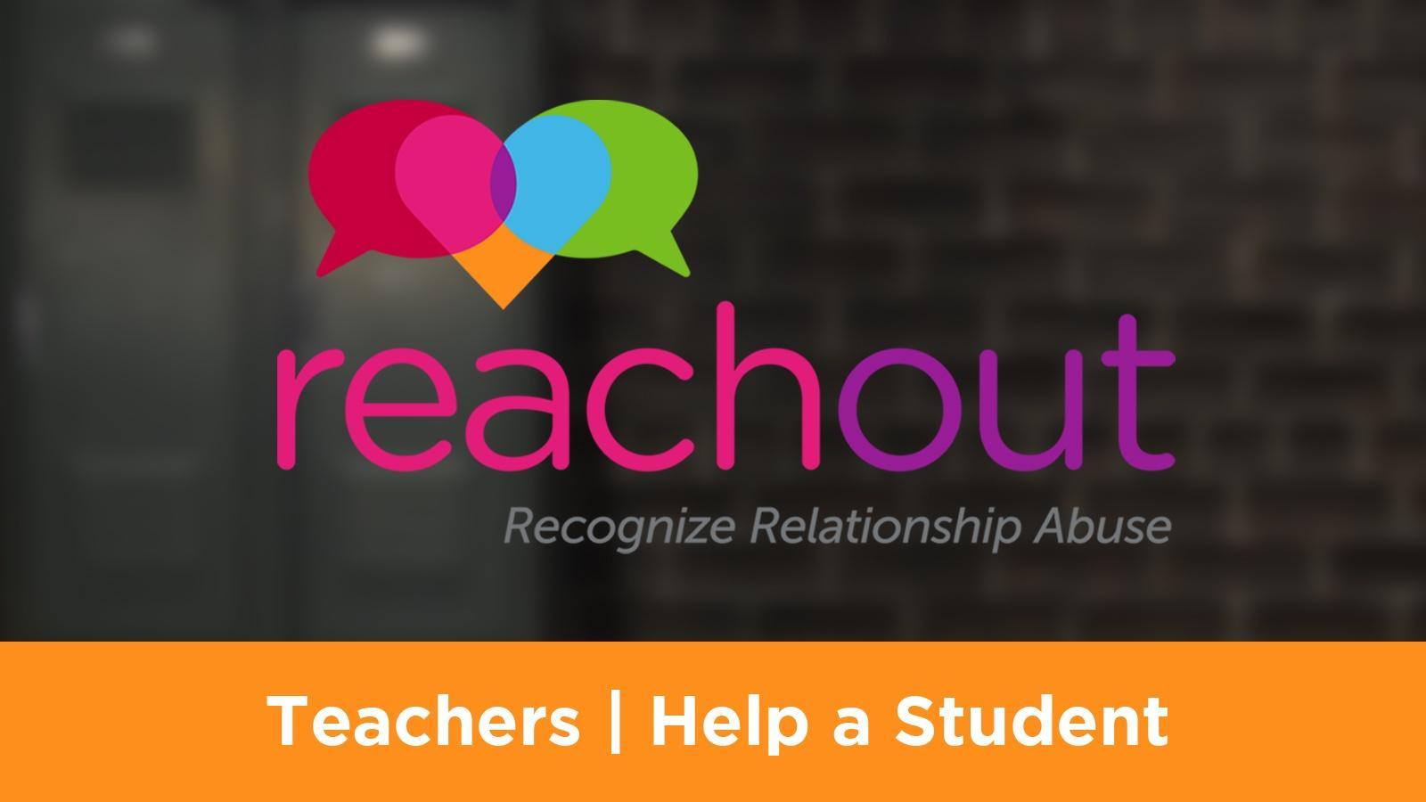 Teachers | Help a Student