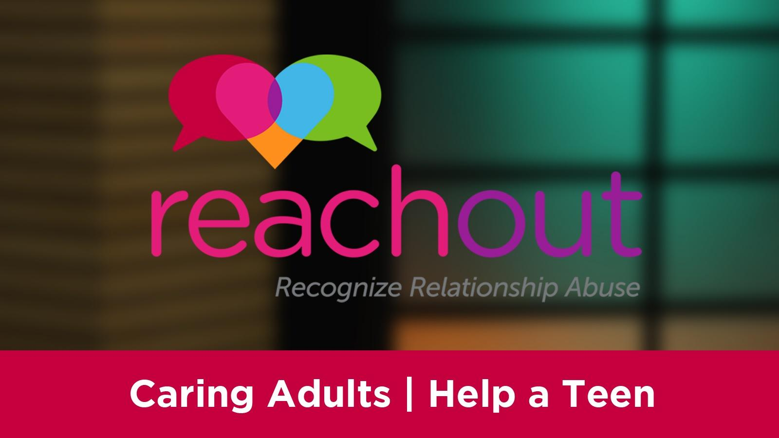 Caring Adults | Help a Teen