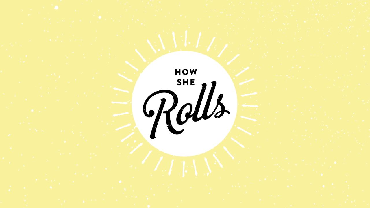 How She Rolls logo