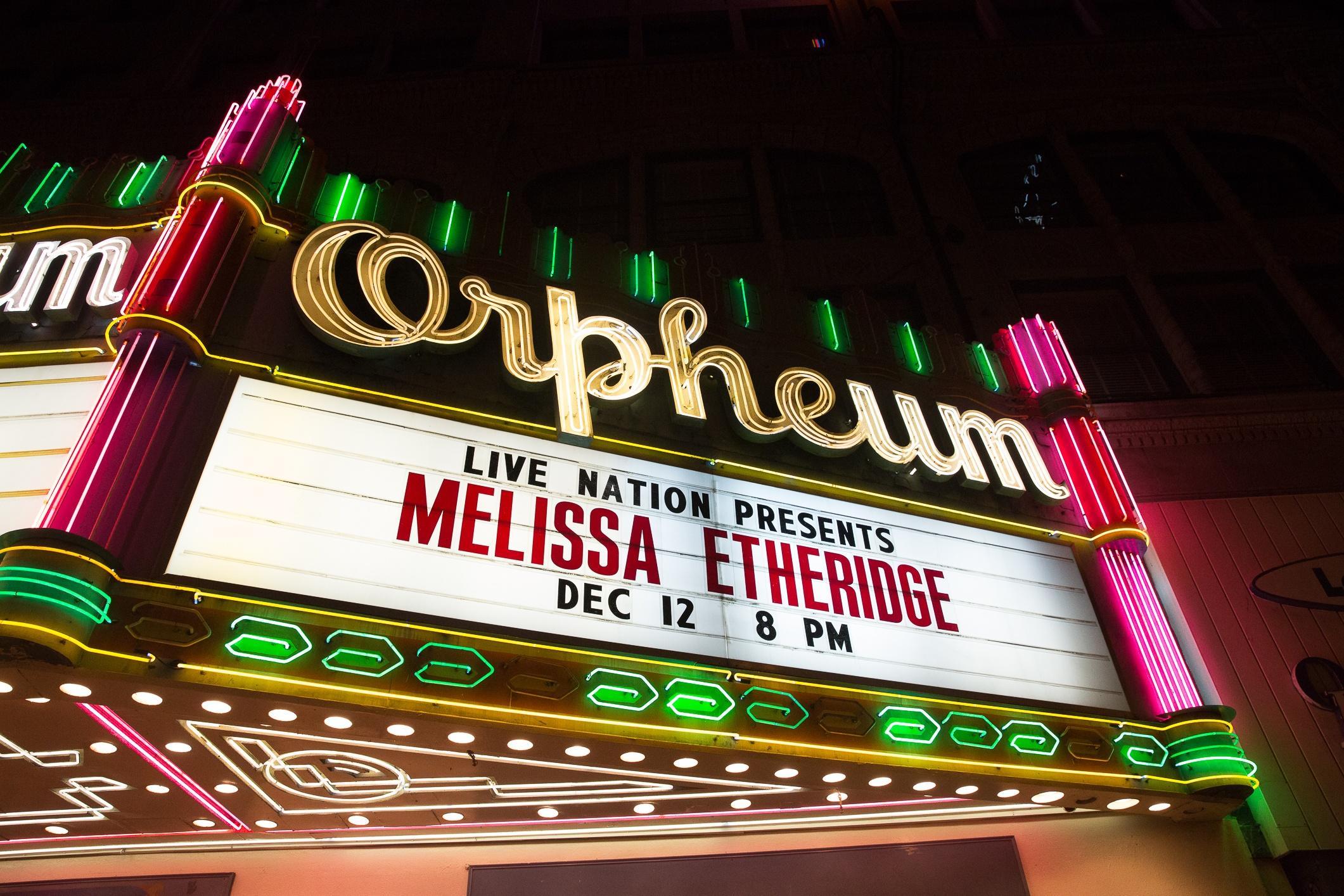 Melissa Etheridge Live at the Orpheum