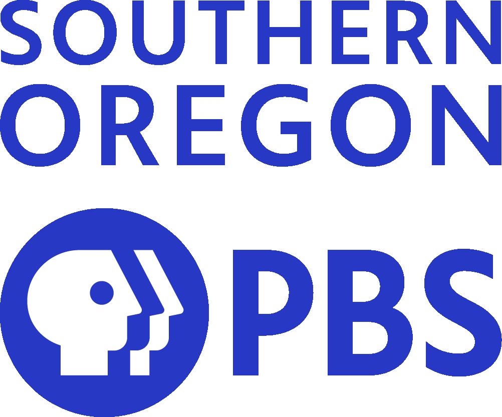 Southern Oregon PBS vertical logo