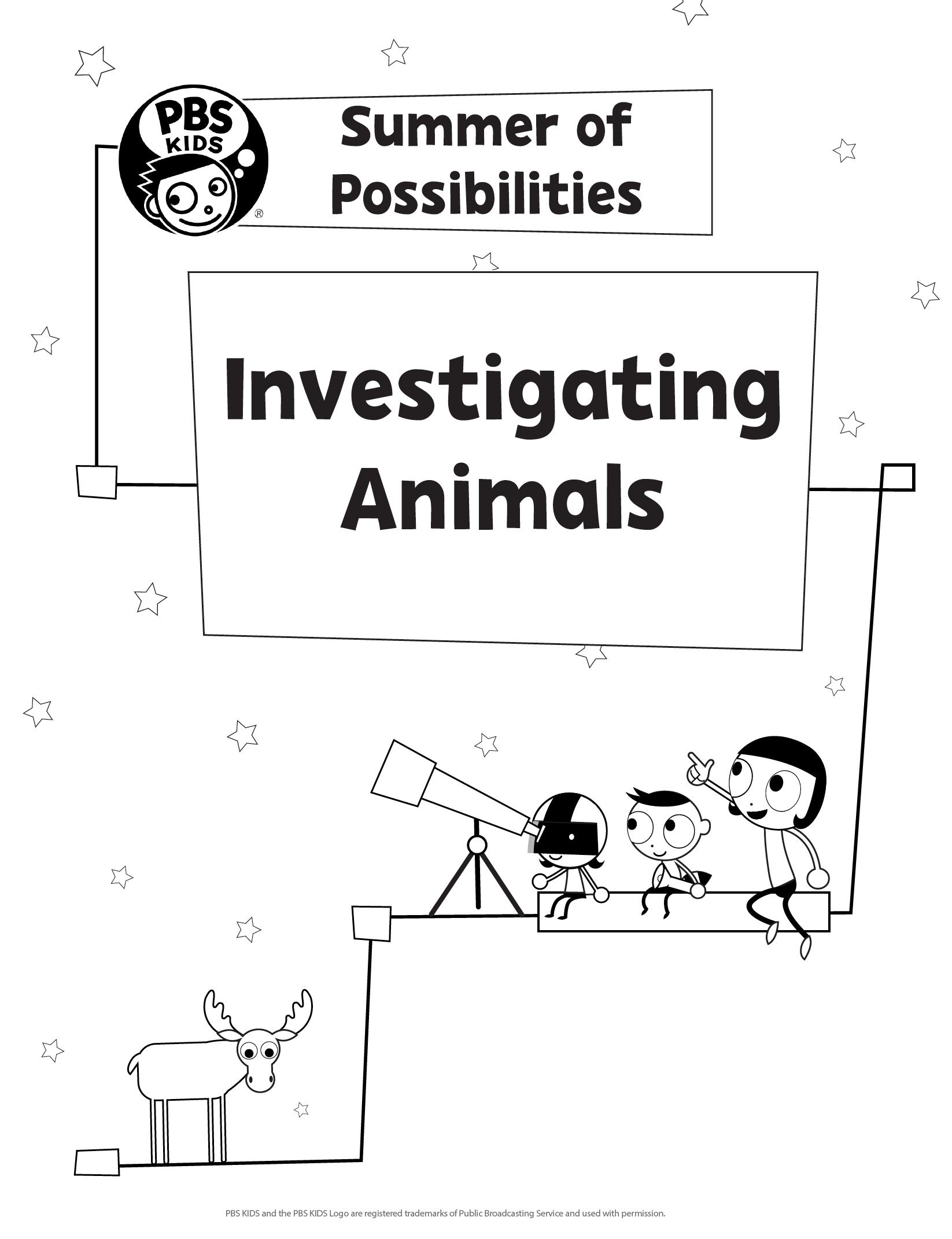 Investigating Animals