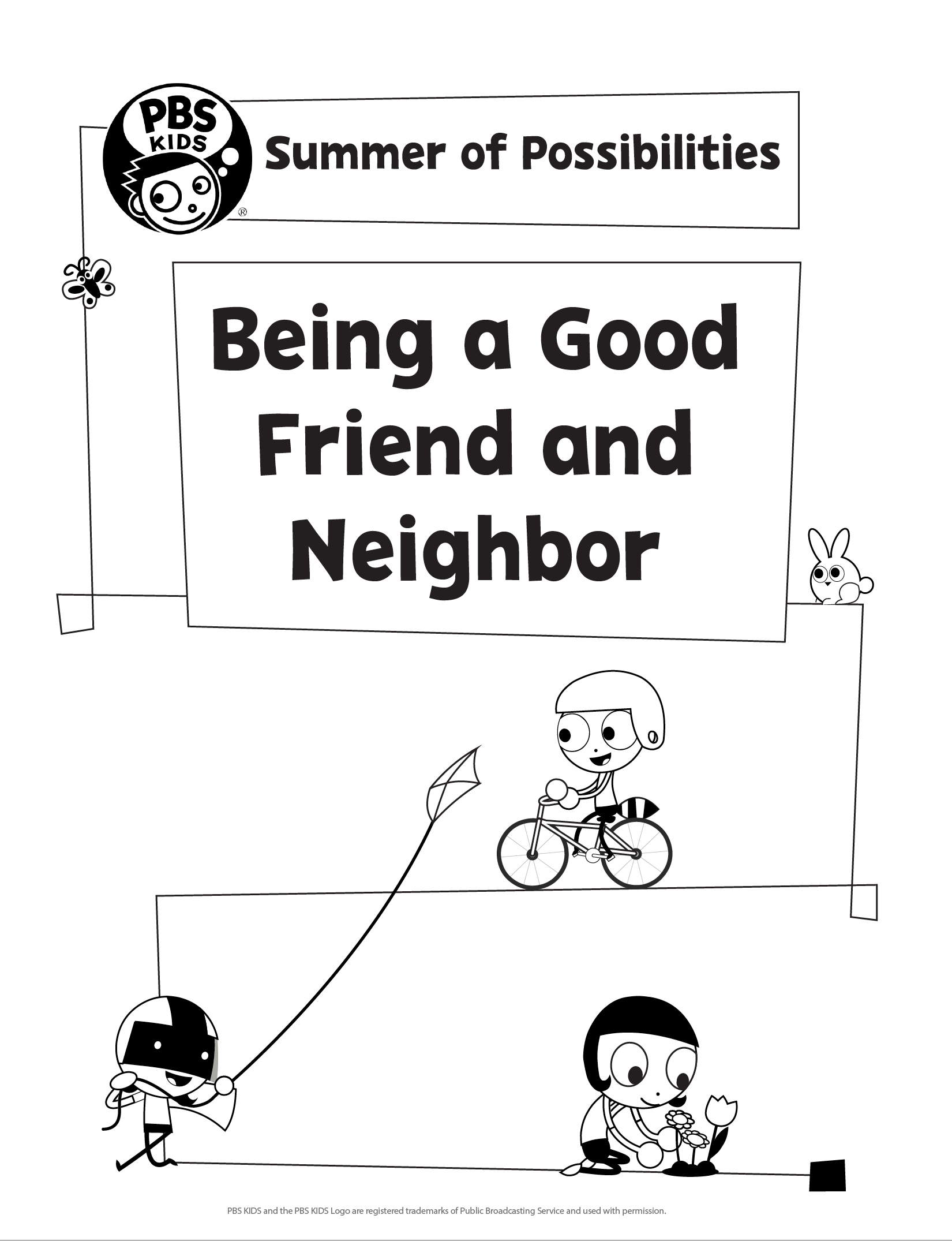 Being a good friend and neighbor
