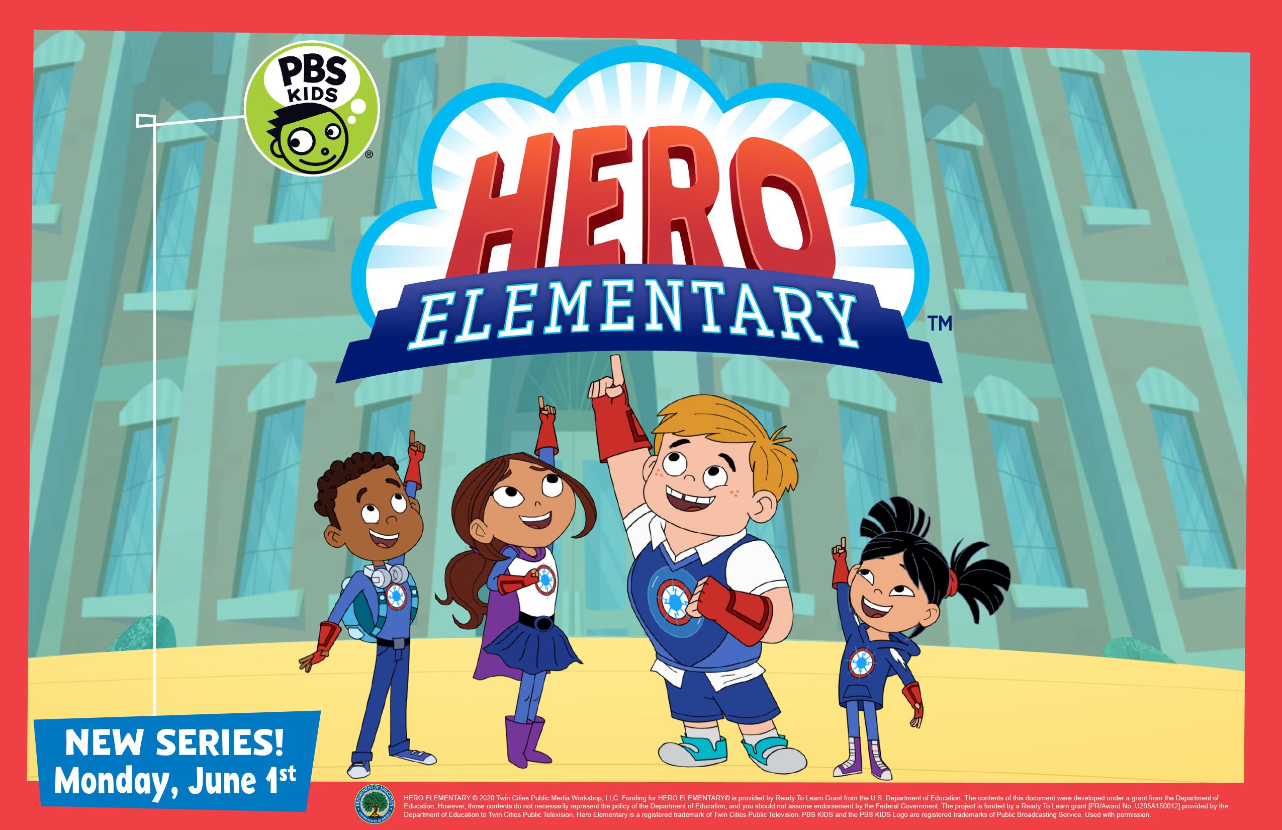 Hero Elementary promotional image
