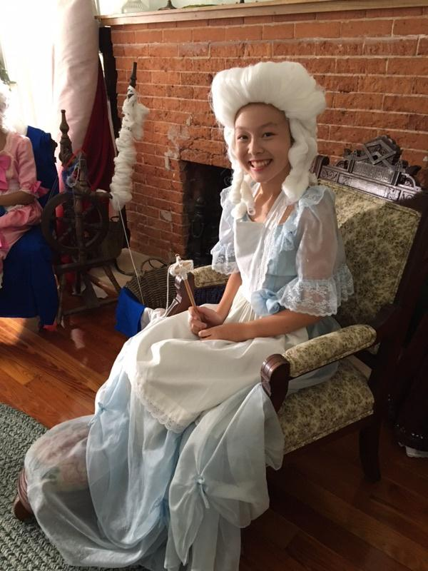 Kid Stew 205 Madison Maxwell as Betsy Ross