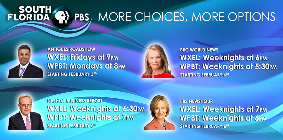 South Florida PBS Schedule Changes