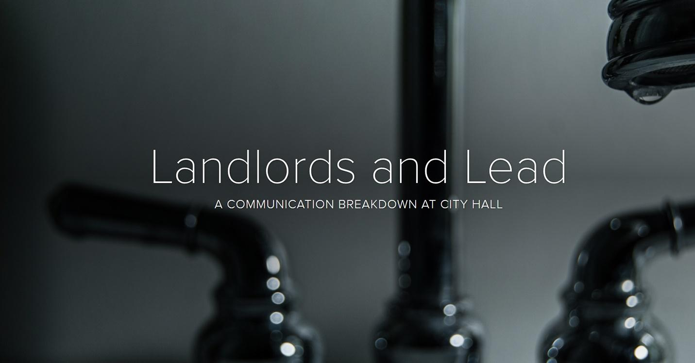 Blog Post Image of lead faucet