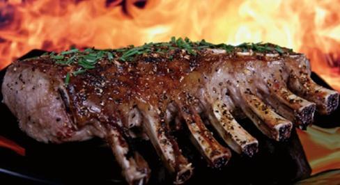 Dan Small's Barbecued Venison Ribs