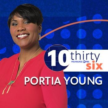 Show Host Portia Young Graphic