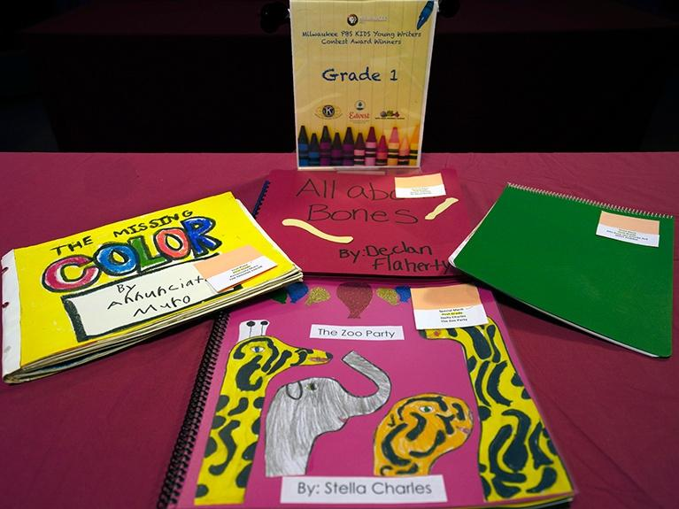 Image of First Grade Authors Book Covers