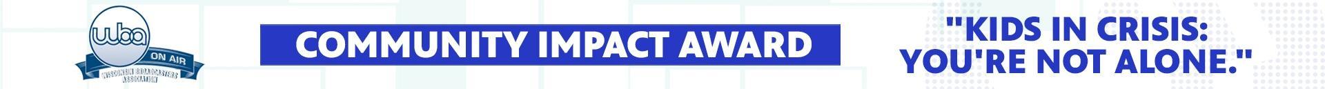 WBA Community Impact Award