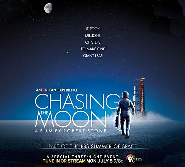 American Experience Chasing the Moon Graphic