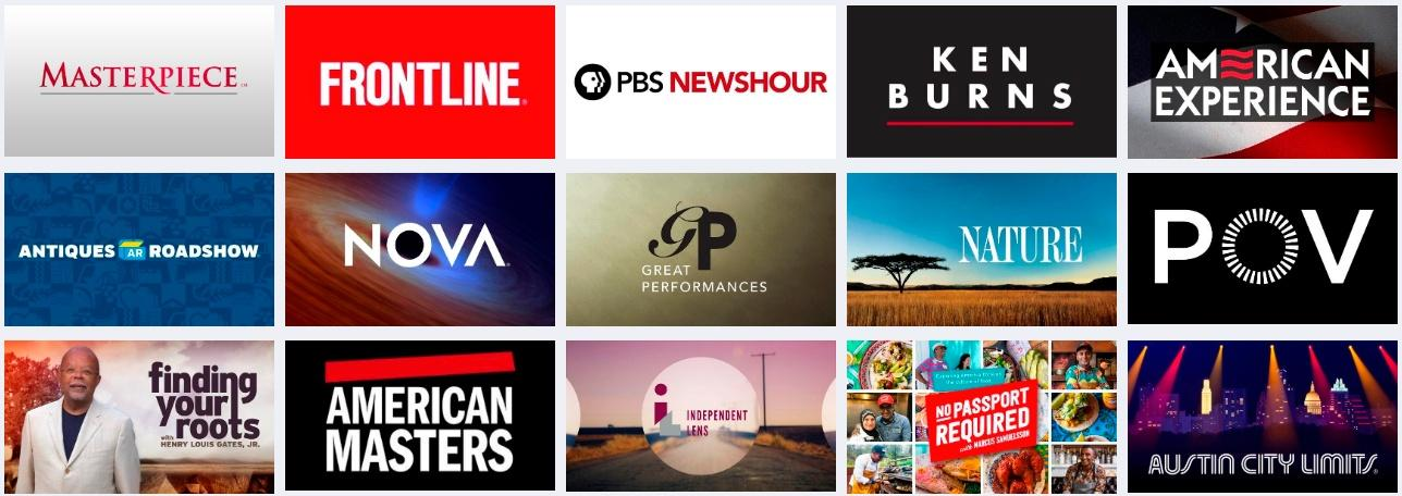 PBS Feature shows