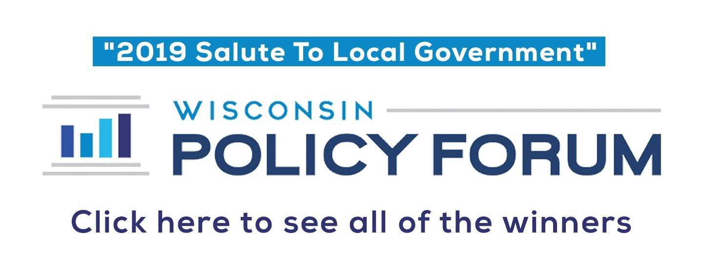 Wisconsin Policy Forum Logo and Navigation