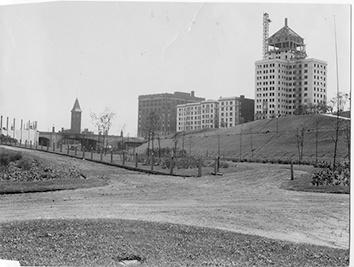 Photo of Cudahy Towers Under Construction