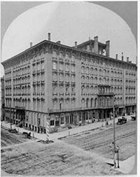 Photo of Newhall House, Milwaukee's first upscale hotel