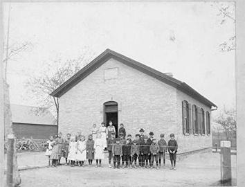 Photo of District 8 School in Town of Greenfield
