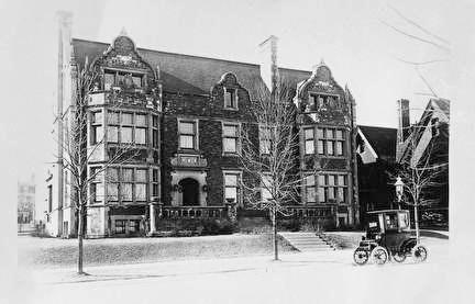 Photo of Nunnemacher Residences on Wahl Ave. in 1931