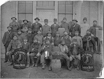 Photo of Gettelmann Brewing Company Employees Portrait