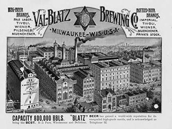 Photo of Blatz Brewery Building and Logos and Brands
