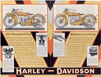 Photo of Harley-Davidson Advertisement