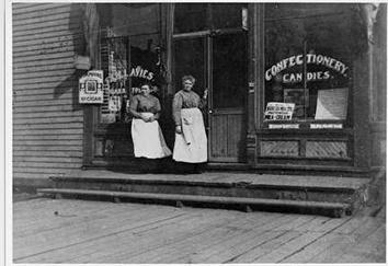 Photo of Marguerite & Sybilla Lanie's Ice Cream Parlor on Ninth St.