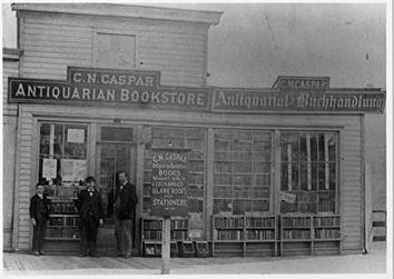 Photo of German Antiquarian Bookstore at 437 E. Water St.