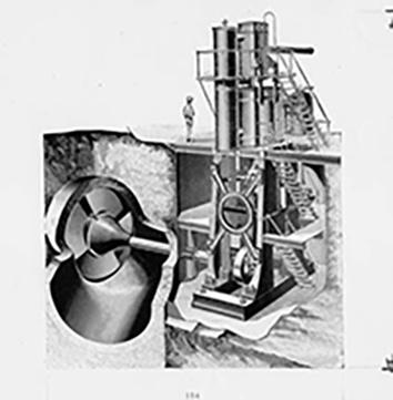 Cutaway Drawing of Edward P. Allis Product