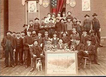 Photo of Employee Group Portrait at Jung Brewing Company
