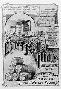 Photo of Daisy Roller Flour Mill Poster Ad
