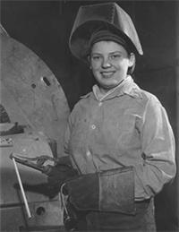 Photo of Woman World War II Worker