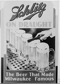 Photo of Schlitz Brewing Company Poster