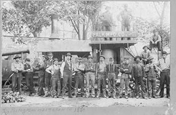 Photo of Falk Corporation Workers in 1880