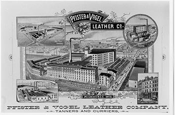 Photo of Pfister and Vogel Tannery Poster Ad